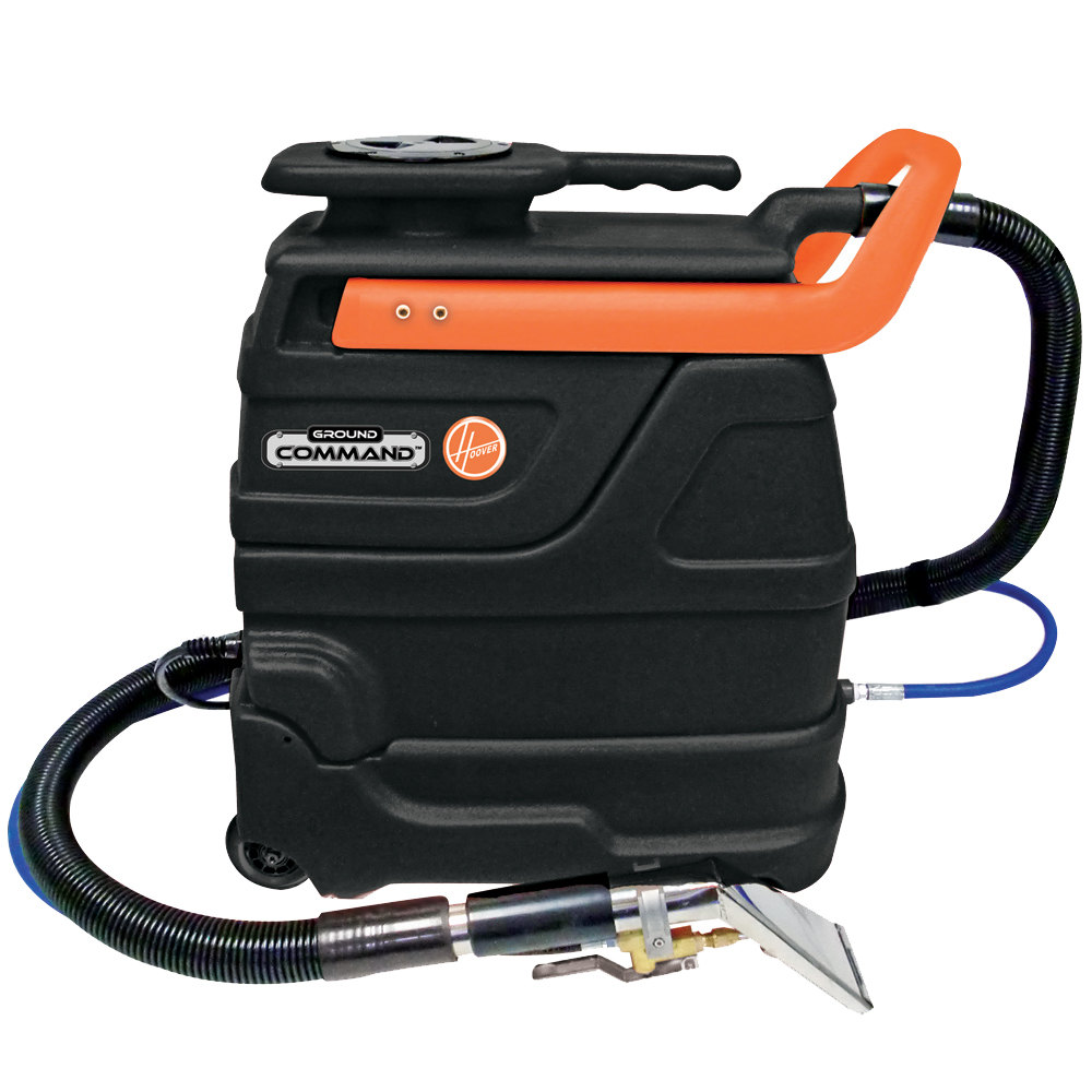 hoover ch83005 ground command 3 gallon carpet spot extractor with inline heater