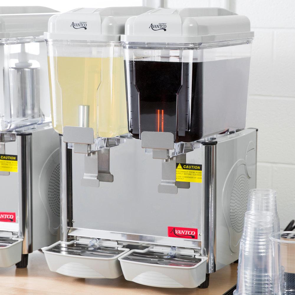 Avantco Rbd32 Double 3 Gallon Bowl Refrigerated Beverage
