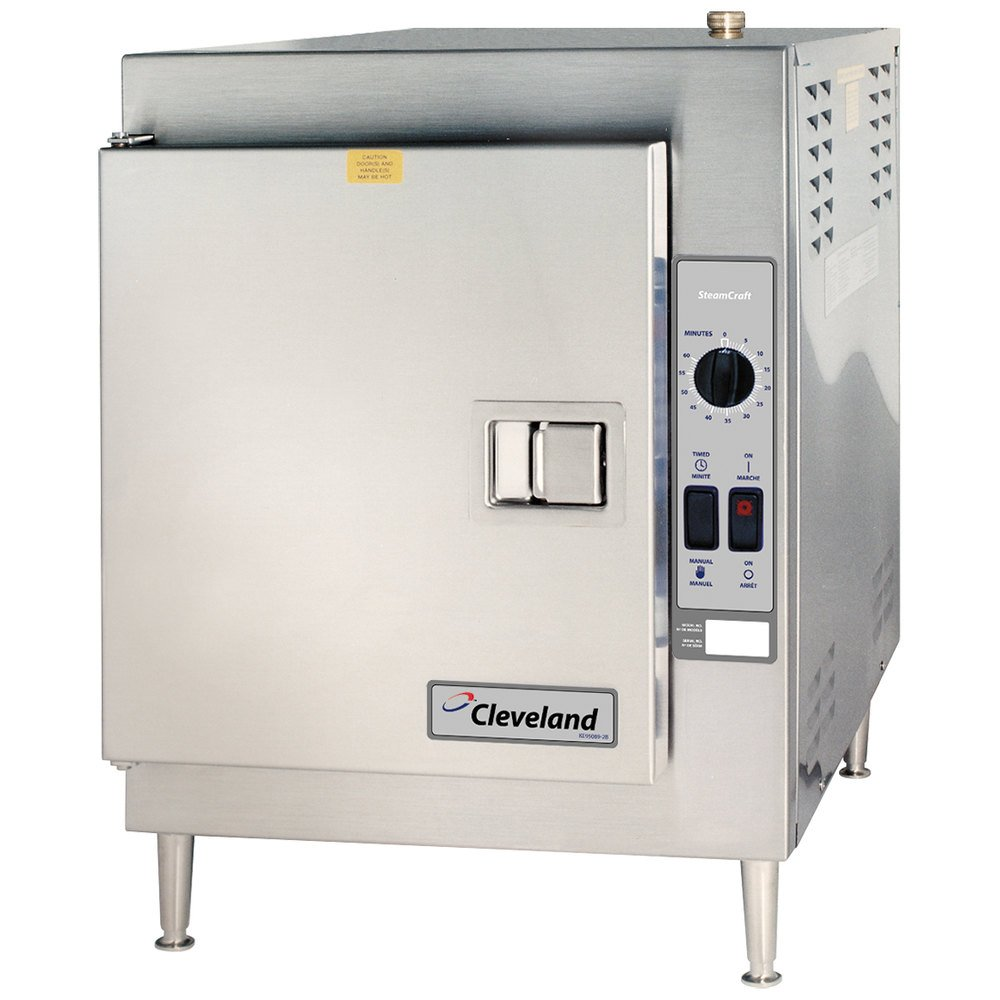 Cleveland 21cet16 Steamcraft Ultra 5 Pan Electric Countertop Steamer 440 480v 3 Phase