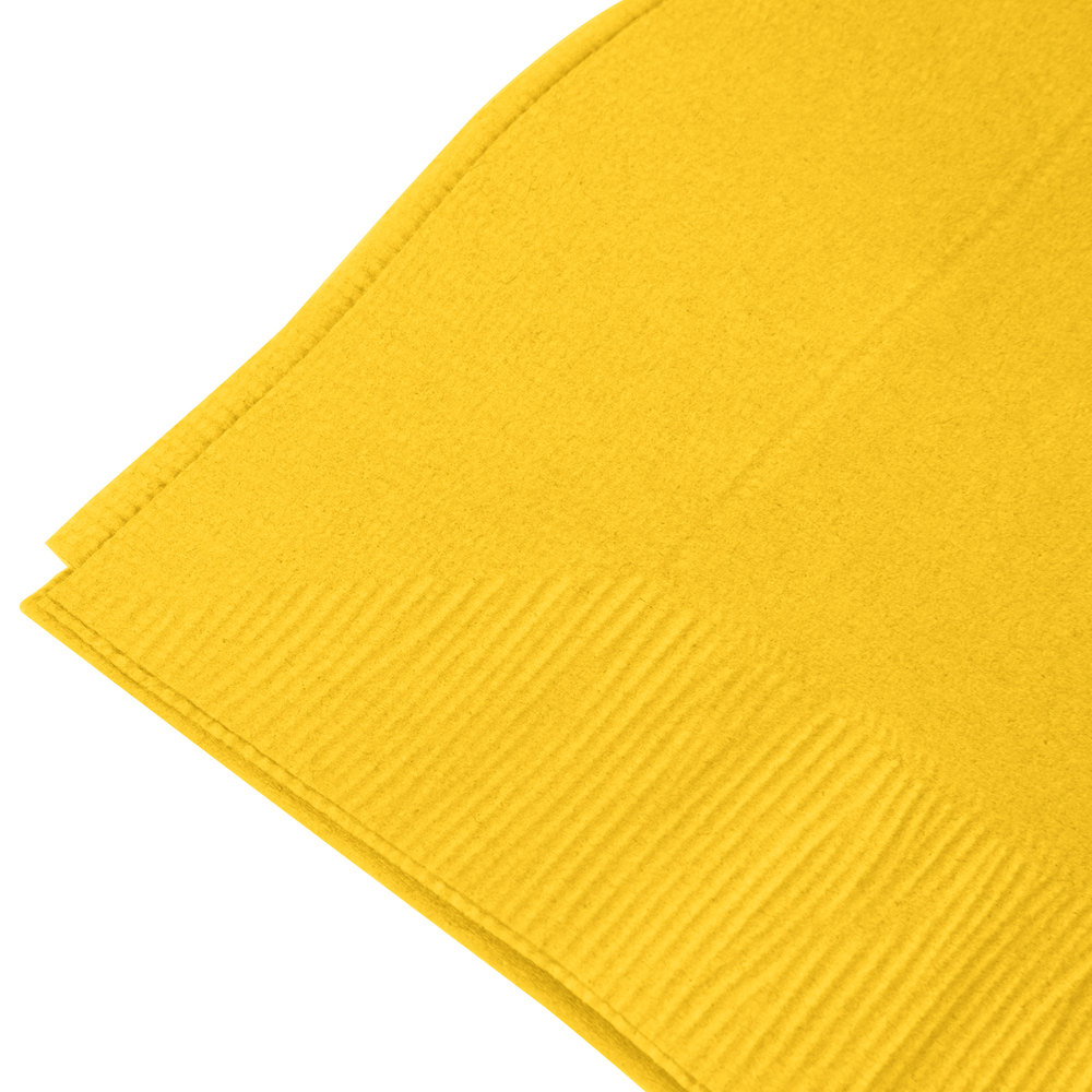 yellow paper napkins Personalized napkins add the perfect touch to all your entertaining from weddings, rehearsal dinners and bridal showers to baby showers which have the look of paper linen with a thicker, plusher, more luxe feel, carte napkins.