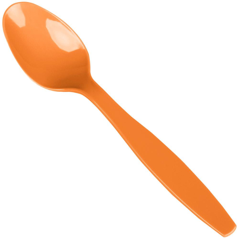 Creative Converting 010615b 6 1 8 Quot Sunkissed Orange Heavy
