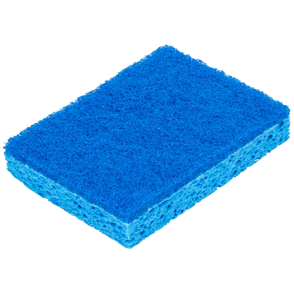 Soft Bristle Brush or Soft Scrub Pad