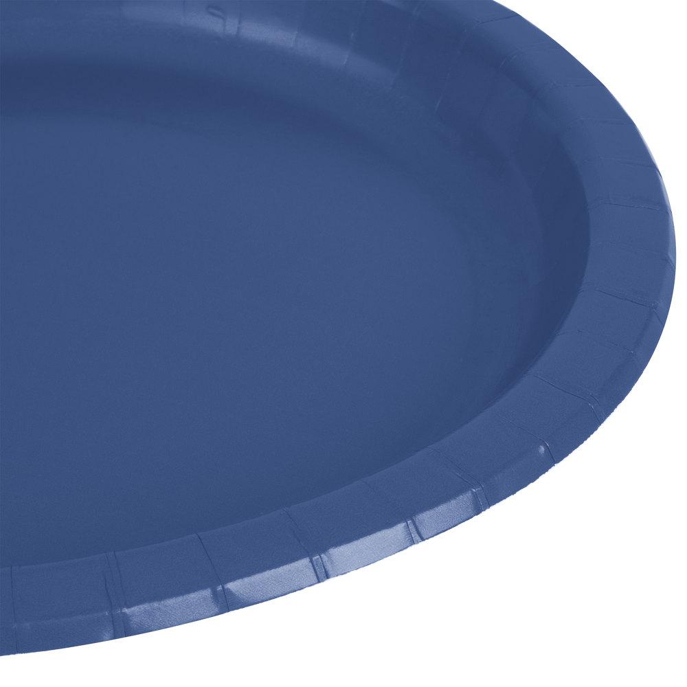 Navy Blue Paper Plates