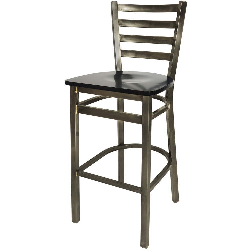 Bfm Seating 2160bblw Cl Lima Steel Bar Height Chair With