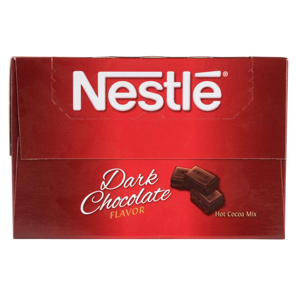 Nestle Dark Hot Chocolate Mix - 50/Box