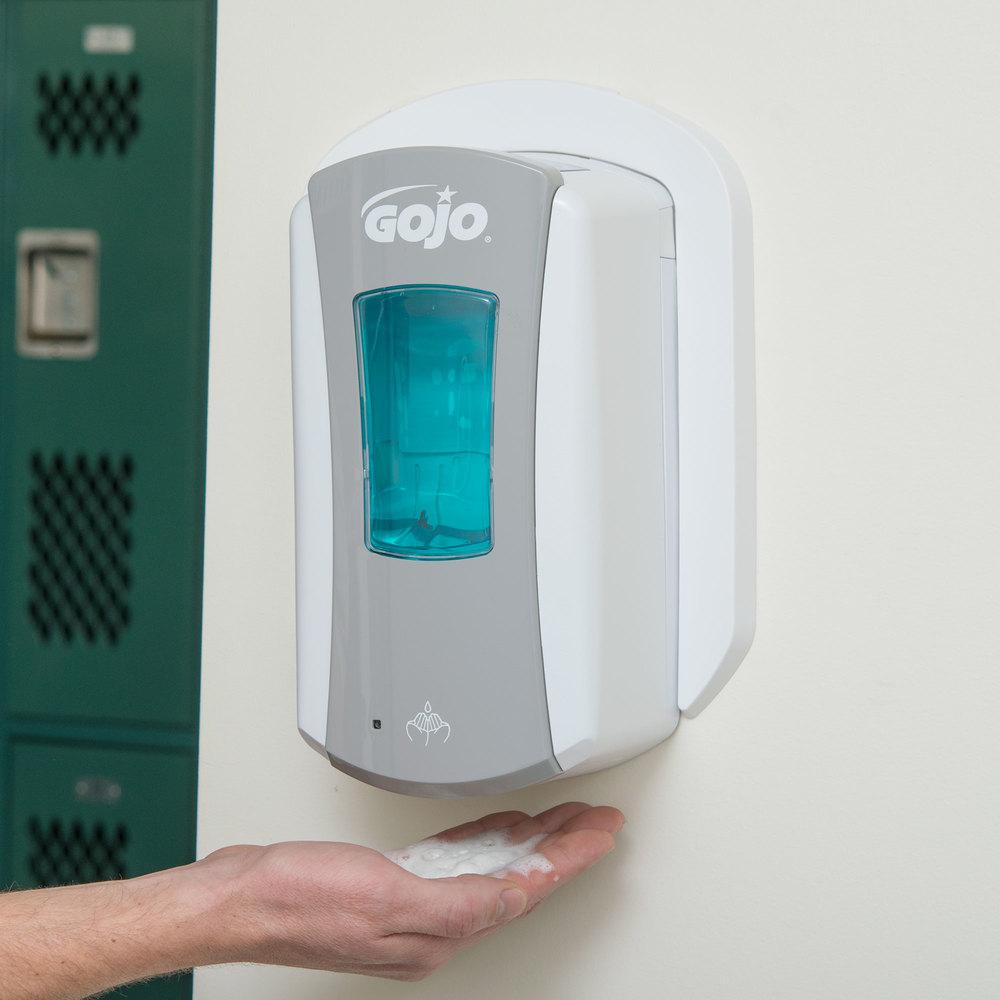 Hand Soap Dispenser ~ Gojo ltx ml gray touchless hand soap