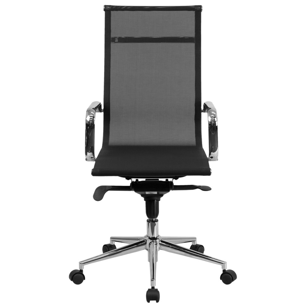 flash furniture bt-2768h-gg high-back black mesh executive office