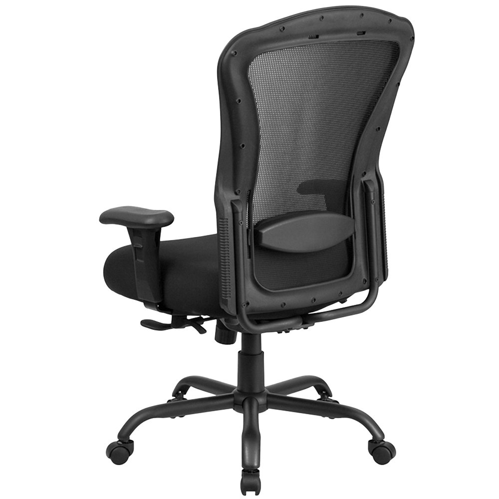 flash furniture lq-3-bk-gg high-back black mesh intensive-use