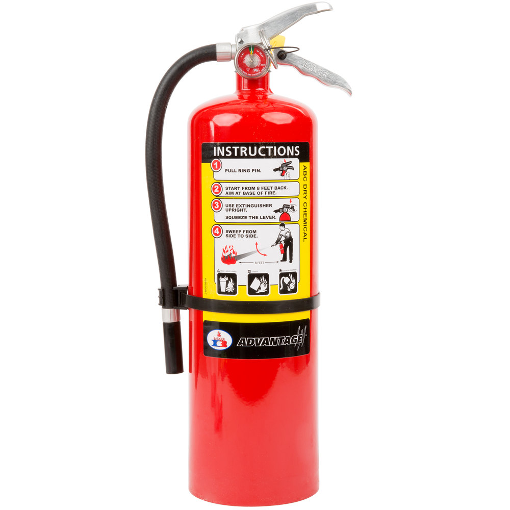 Badger Advantage ADV Lb Dry Chemical ABC Fire Extinguisher - Outdoor fire extinguisher cabinets