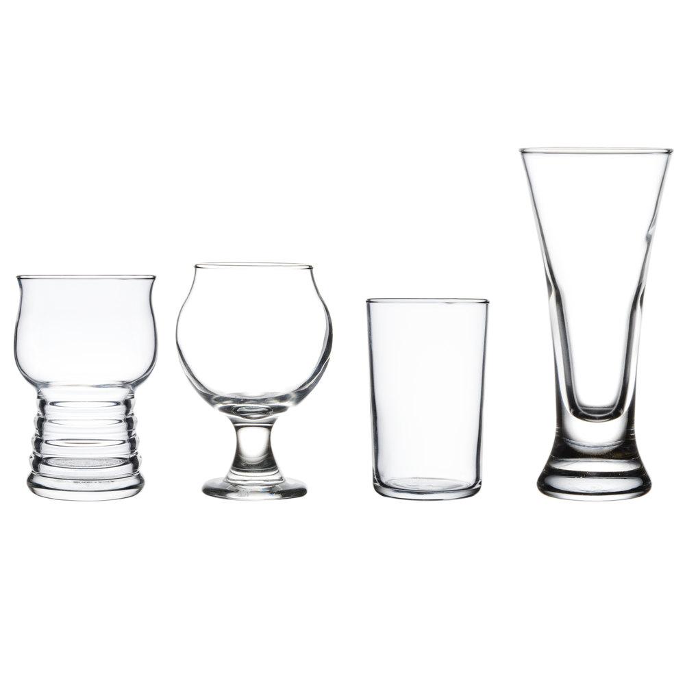 libbey craft beer variety sampler glass set. Black Bedroom Furniture Sets. Home Design Ideas