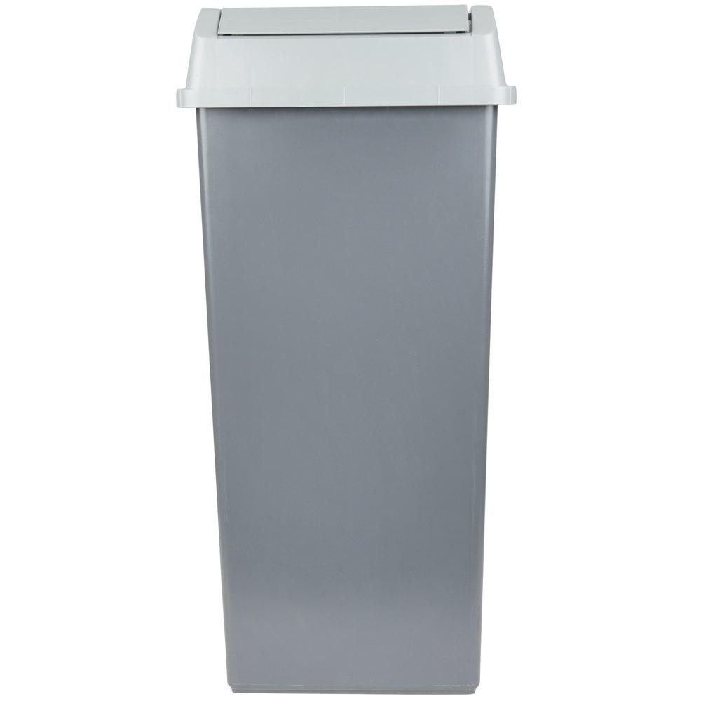Commercial Kitchen Wastebaskets | WebstaurantStore