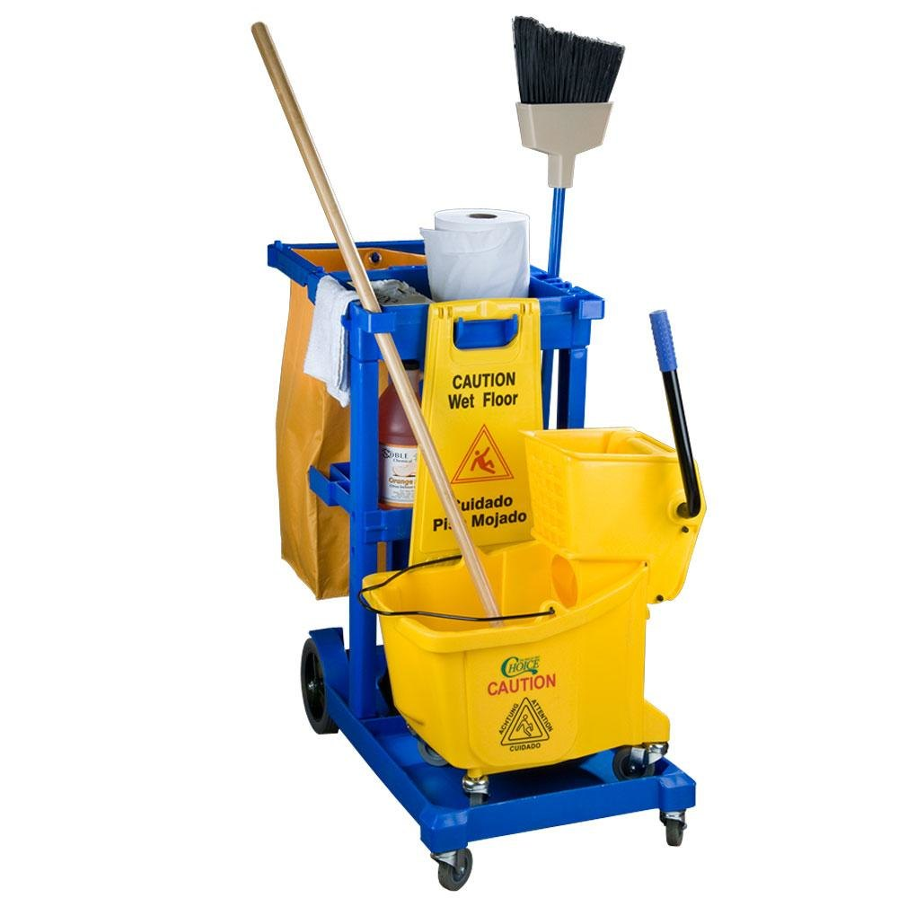 Where can I find out what cleaning products janitors use?