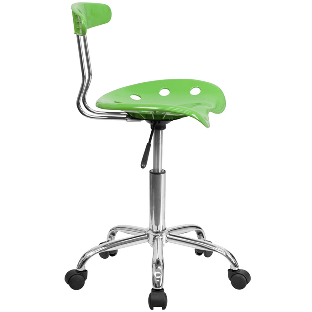 flash furniture lf-214-spicylime-gg spicy lime office / task chair