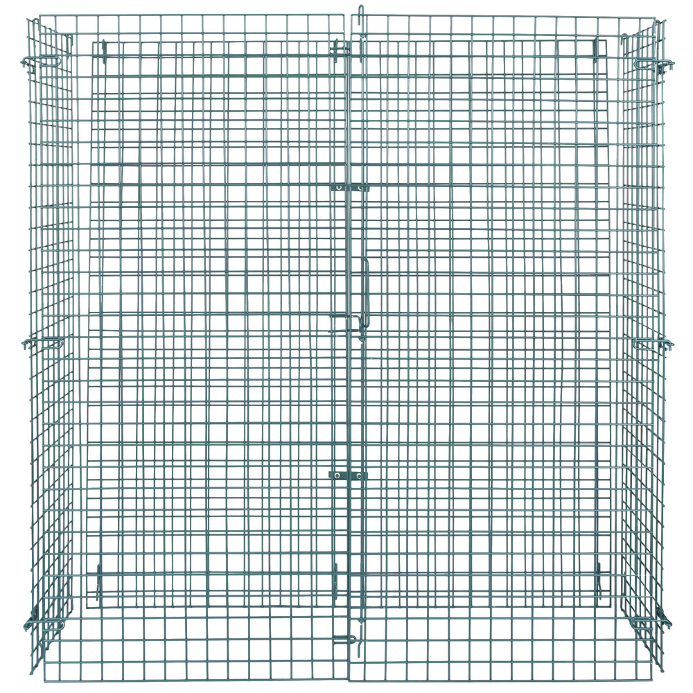 Regency NSF Green Wire Security Cage - 18 inch x 60 inch x 61 inch