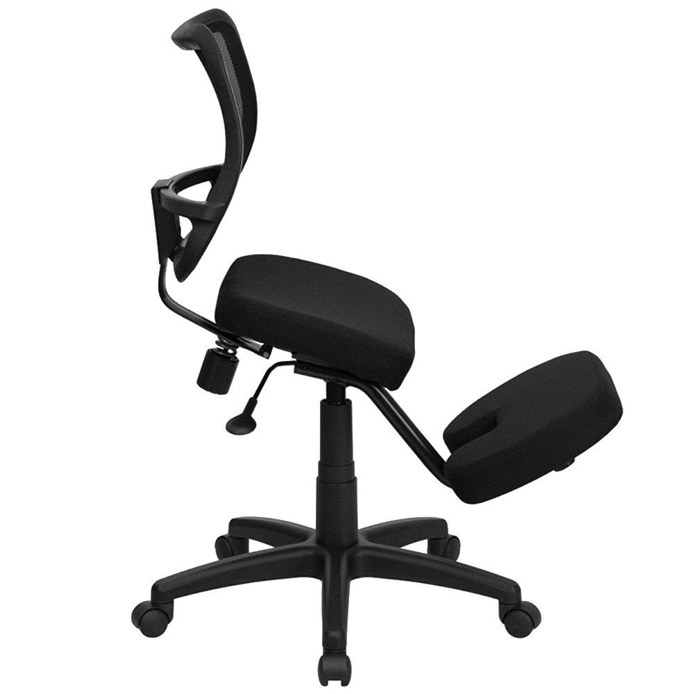 Ergonomic kneeling office chairs -  Ergonomic Mobile Kneeling Office Chair With Nylon Frame Main Picture Image Preview