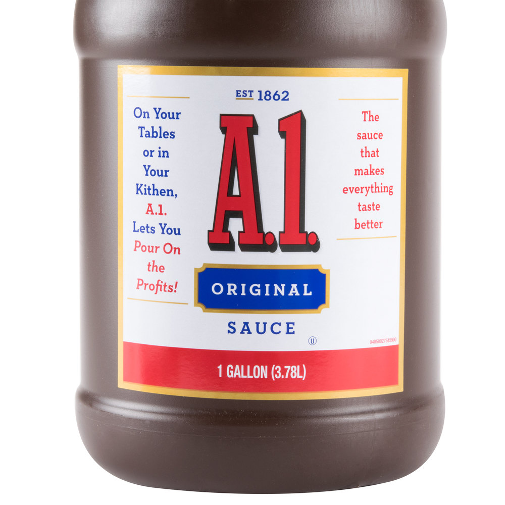 a 1 steak sauce case analysis A1 case study essay case recap a1 is the market leader in production and sales of steak sauce in the united states, with the leading competitor (heinz 57) not being in direct competition with them ( they are quite different in taste and appearance, making their marketing about versatility, not direct competition.