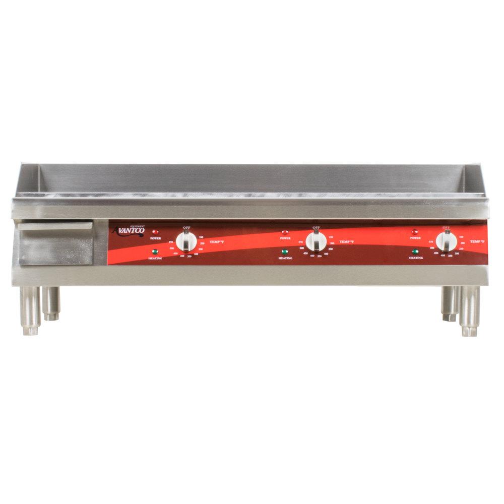 electric countertop product avantco griddle countertops