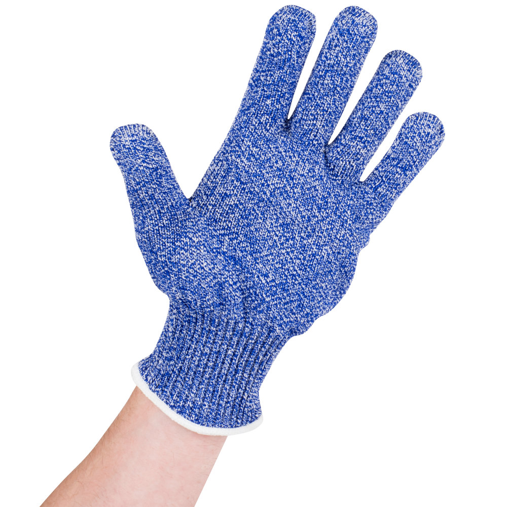 san jamar sgbls blue cut resistant glove with dyneema  small - main picture image preview image preview