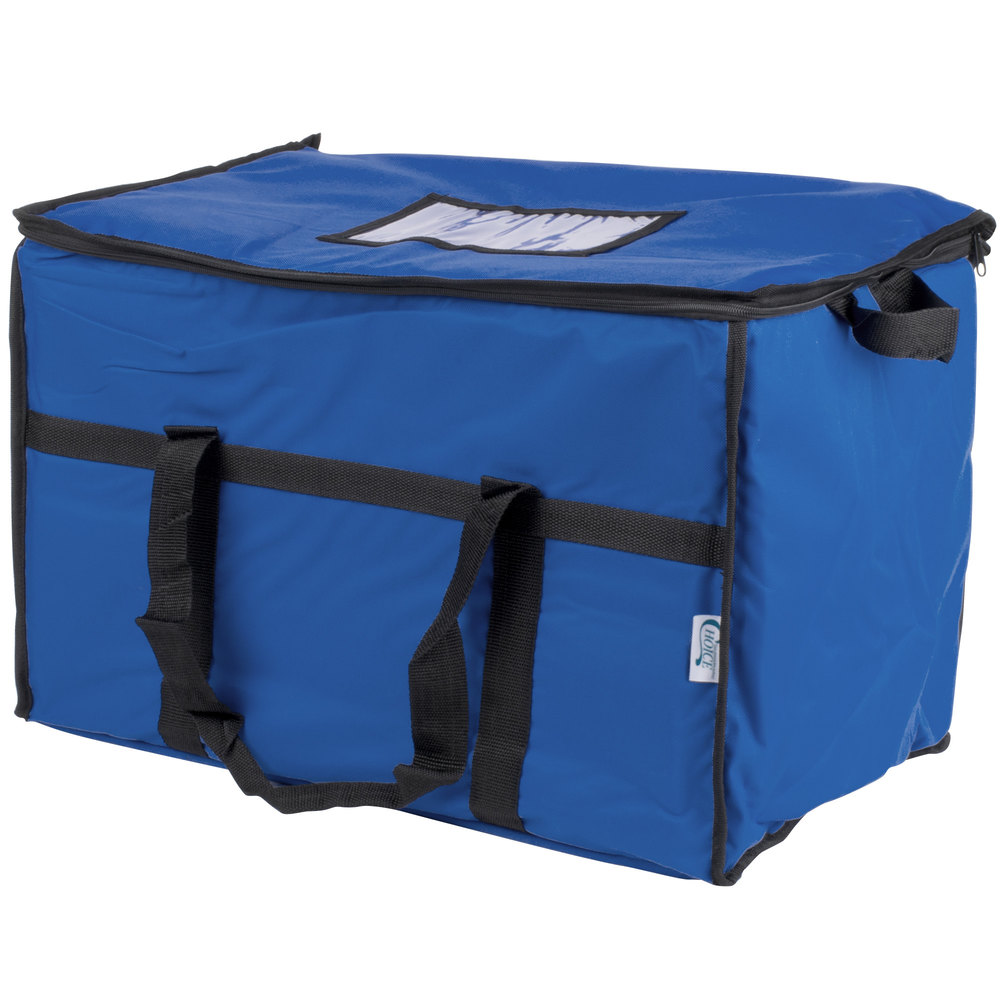 Choice Soft Sided Insulated Cooler Bag Blue Nylon