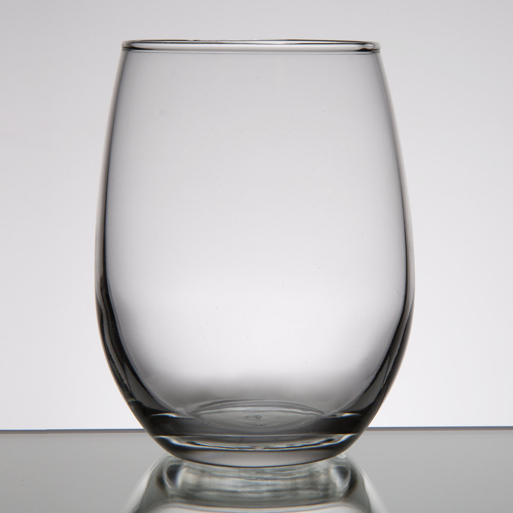 Libbey 207 9 oz stemless wine glass 12 case - Beaker wine glasses ...