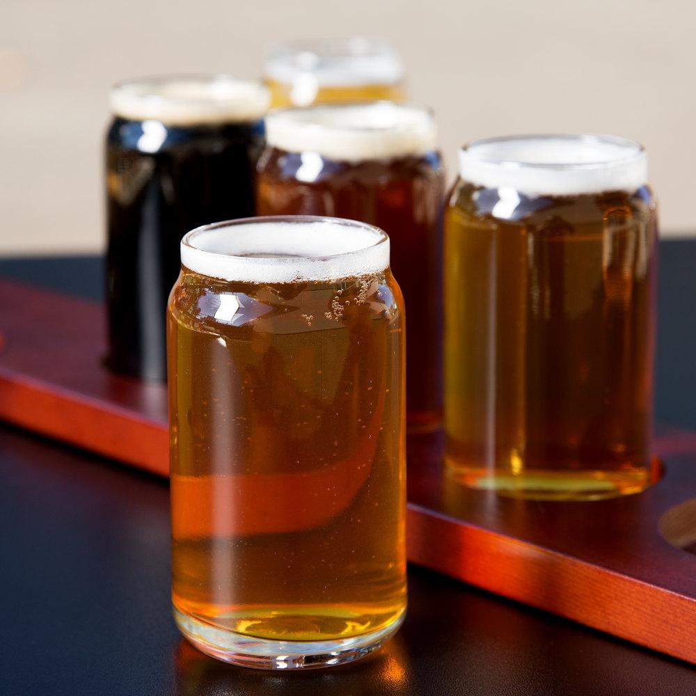 Set Of Craft Beer Glasses