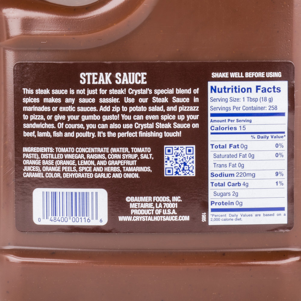 a 1 steak sauce case study Carolina lunker sauce case solution, carolina lunker sauce is a new product to try to get into the category of fishing bait the founders of the company evaluated the lower the selling price o.