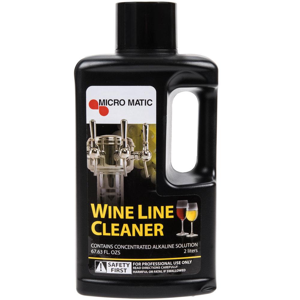 Micro Matic MM-W68 68 oz. Alkaline Wine Line Cleaner - 6/Case