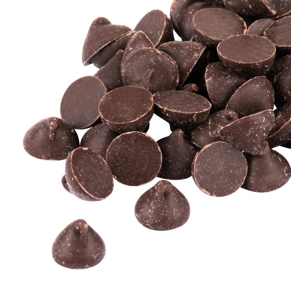 Regal Foods Pure Semi-Sweet 1M Chocolate Baking Chips 5 lb.