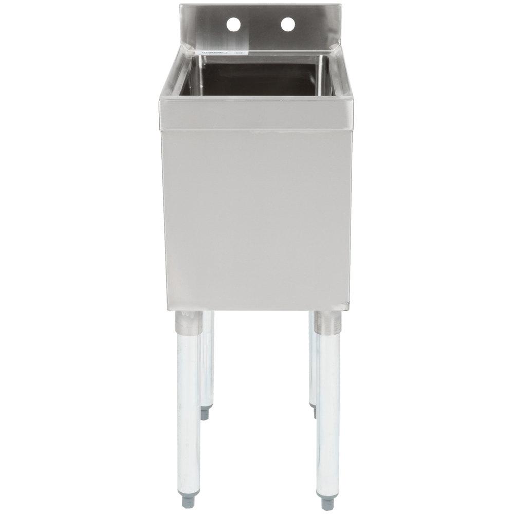 Regency 1 Bowl Underbar Hand Sink - 18 3/4 inch x 12 inch