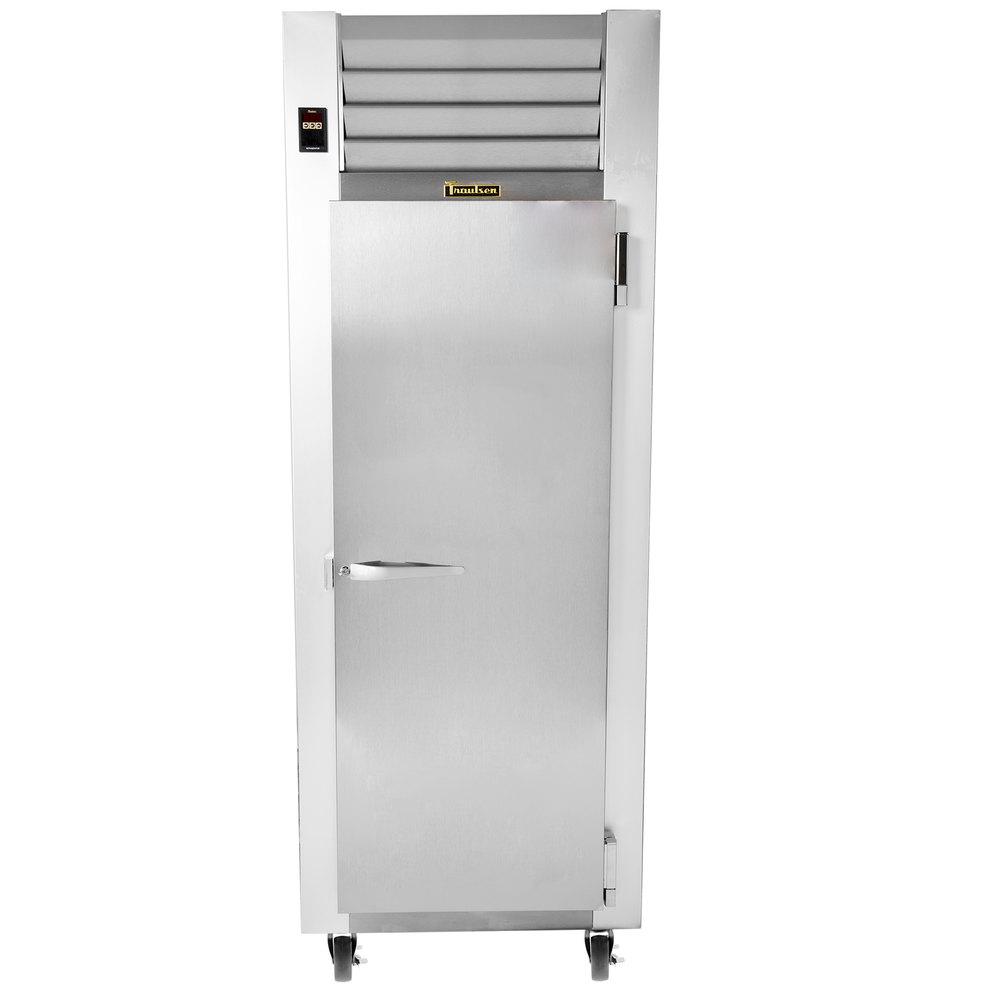 Traulsen G10010 30 U0026quot  G Series One Section Solid Door Reach