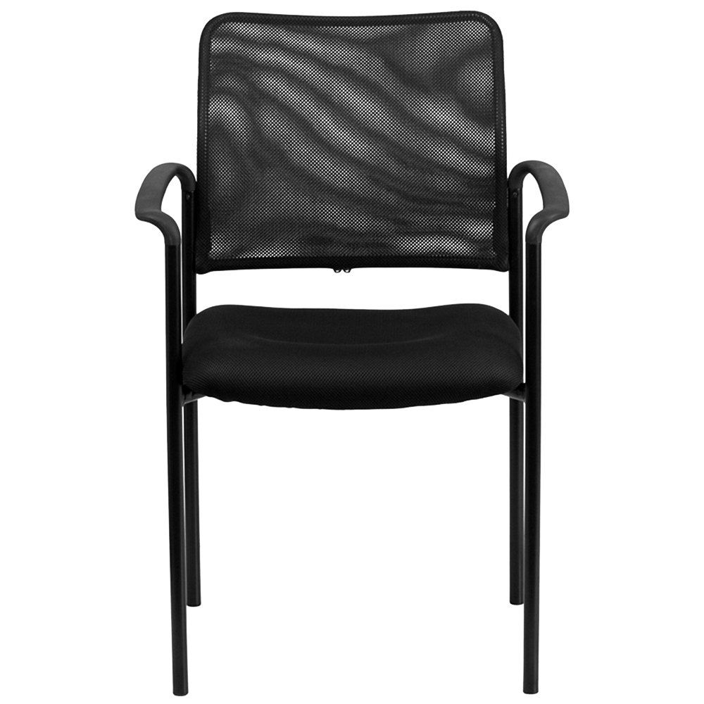 Flash furniture go 516 2 gg black mesh comfortable for Furniture 2 go