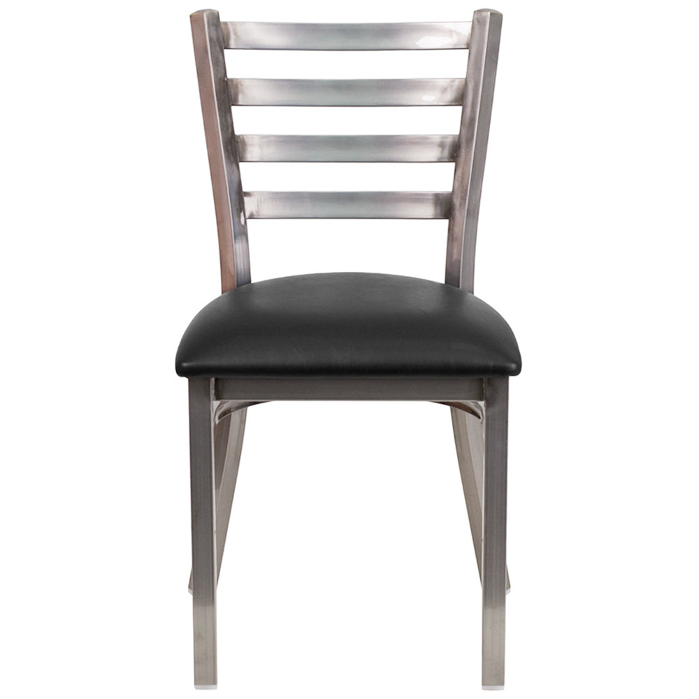 Flash Furniture Xu Dg694blad Clr Blkv Gg Clear Coated