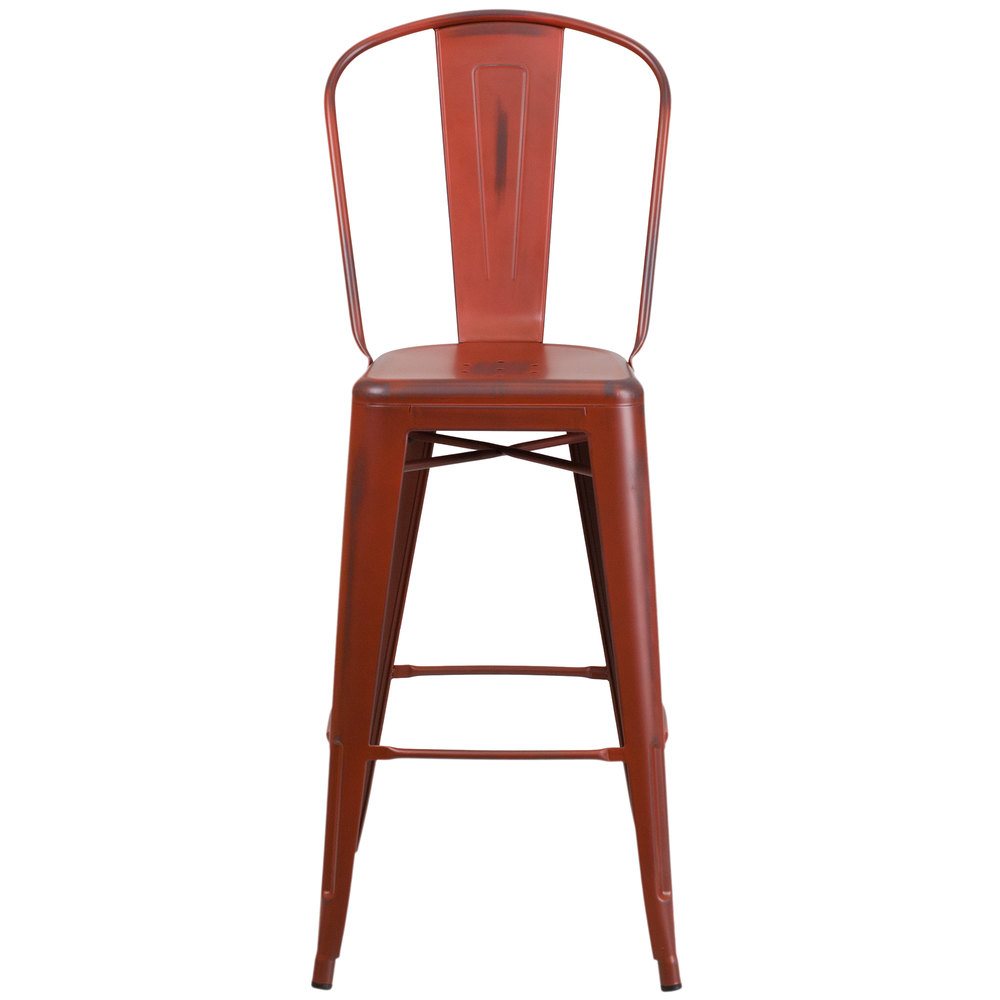 main picture image preview - Metal Bar Stools With Backs