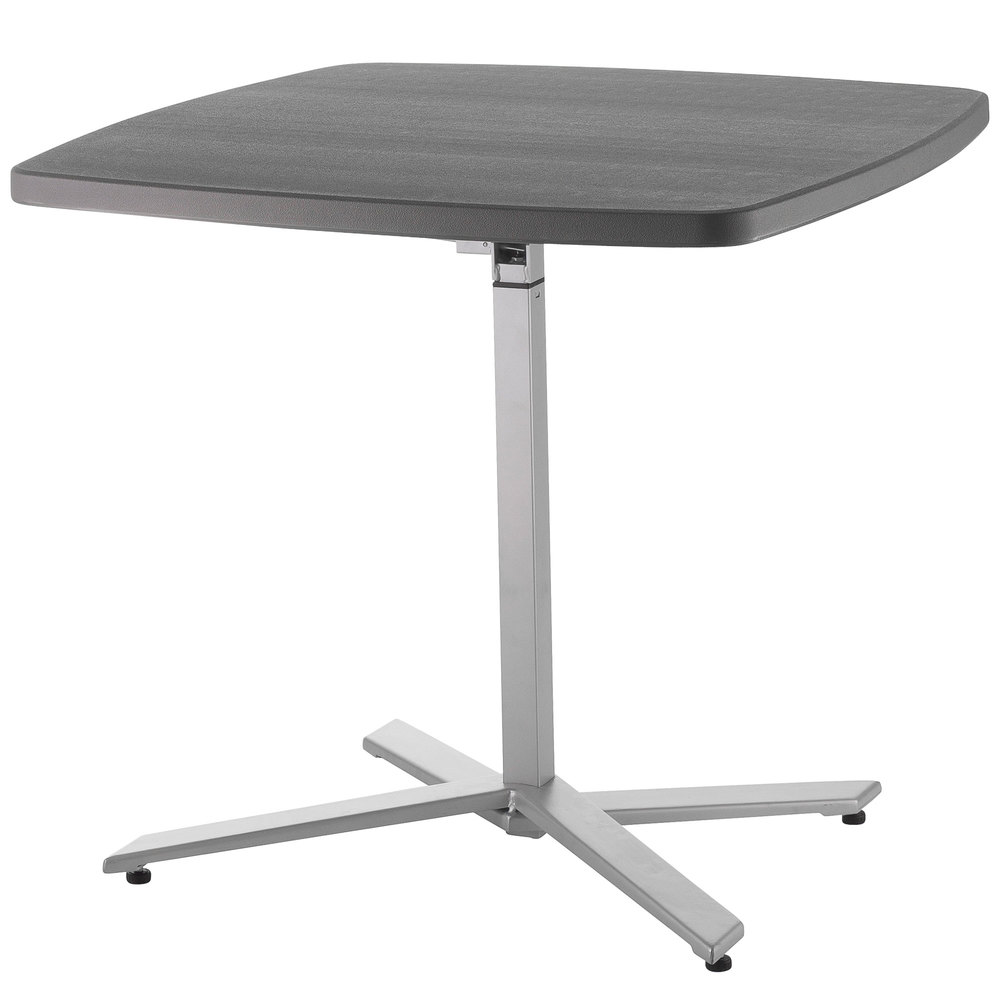 NPS Cafe Time Adjustable Height Table, 30 Inch   42 Inch   CTT3042 ...