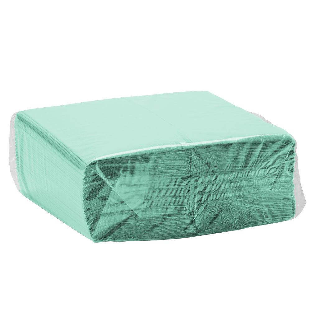 fresh mint green paper dinner napkin 2 ply 1 8 fold creative converting 318899 600 case. Black Bedroom Furniture Sets. Home Design Ideas