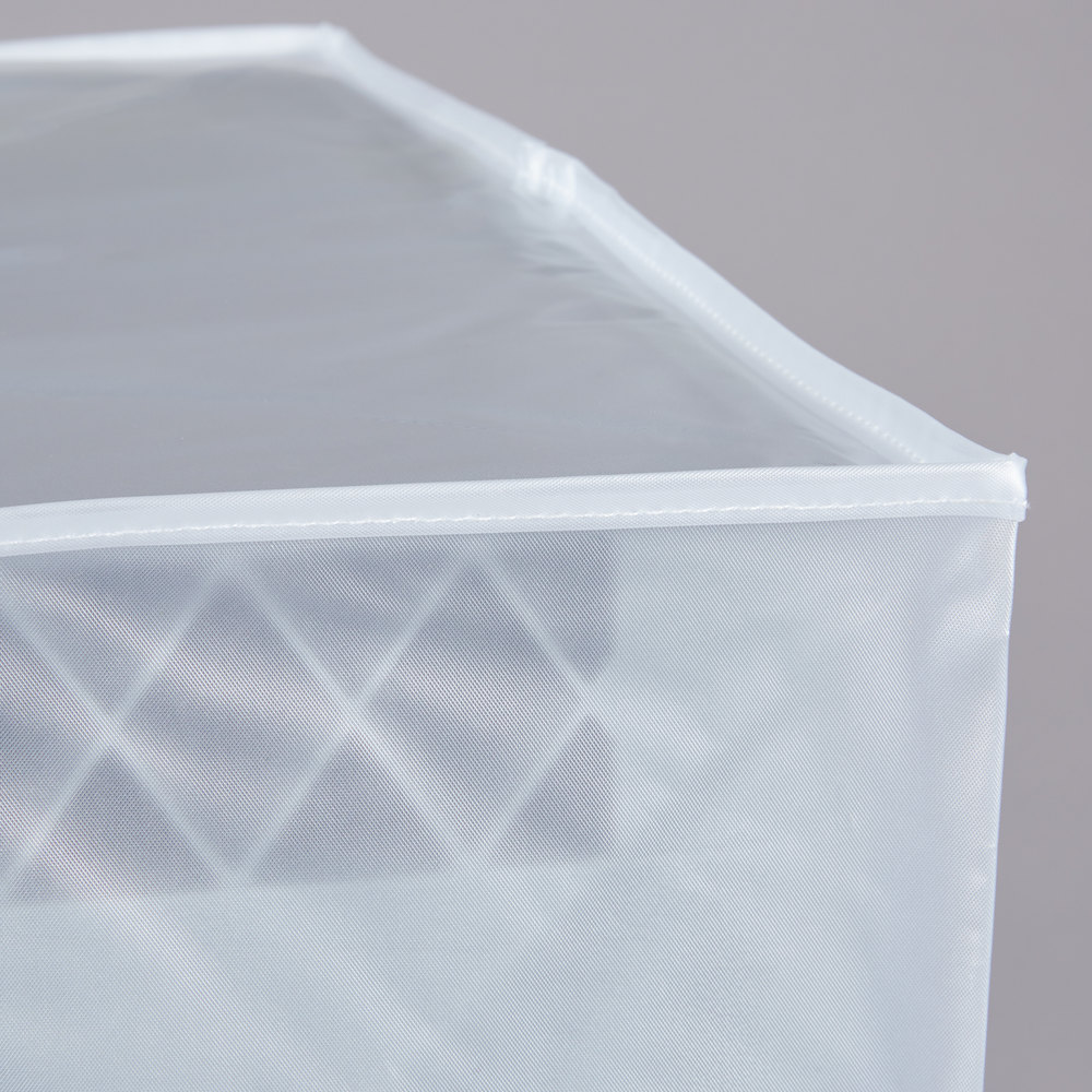 Noble Products 60 Quot Translucent Vinyl Glass Rack Dust Cover