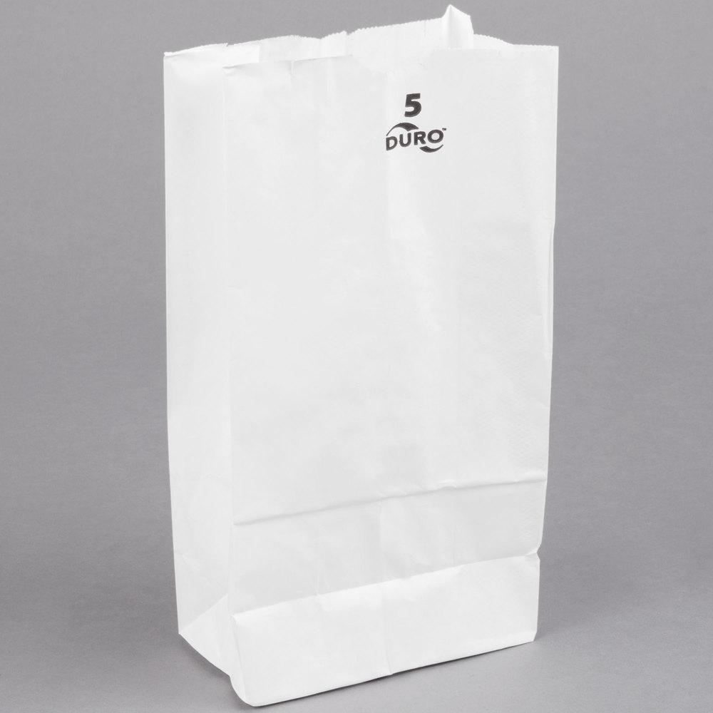 White Paper Bag 500 Bundle
