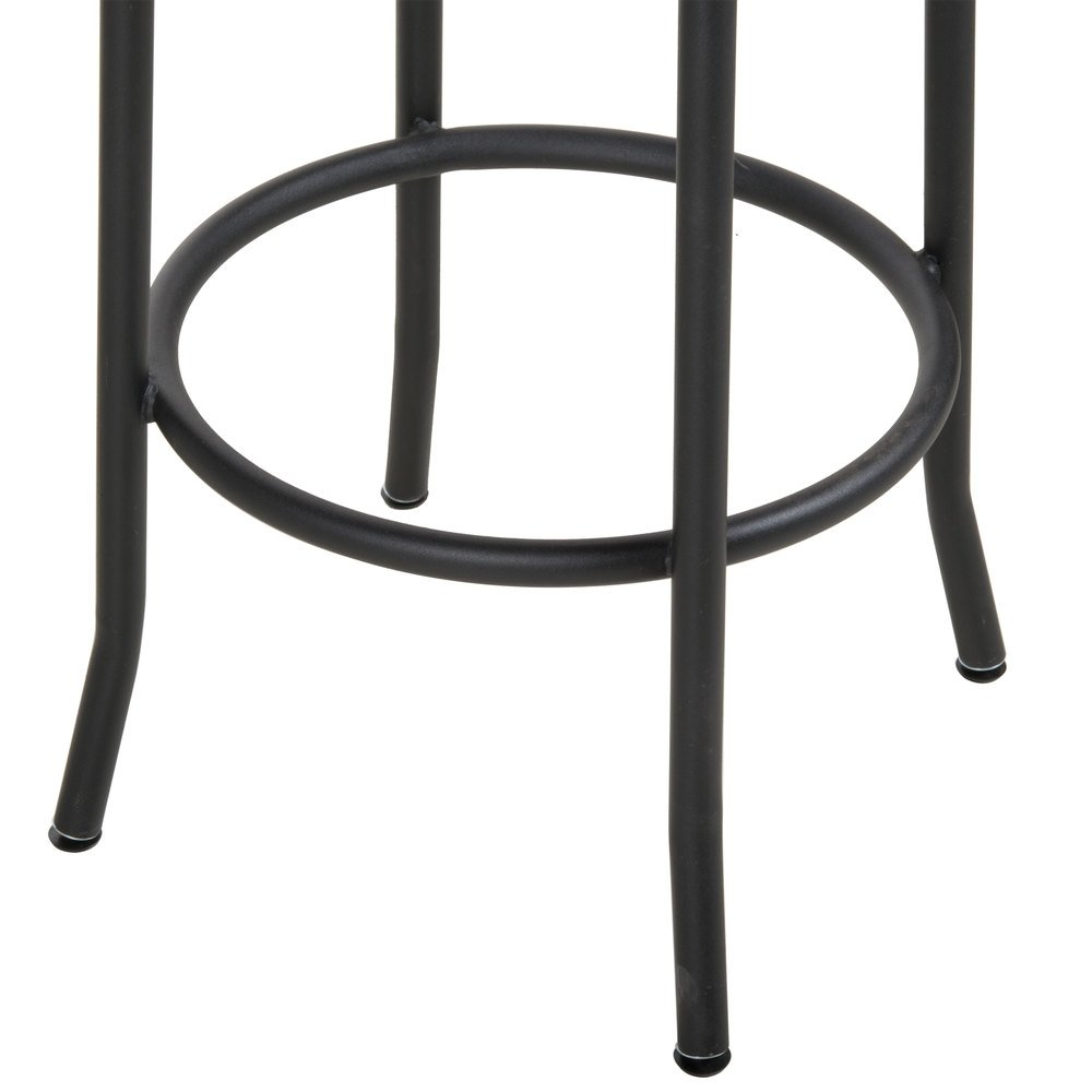 Bfm Seating Js800bash Sb Henry Sand Black Steel Bar Stool