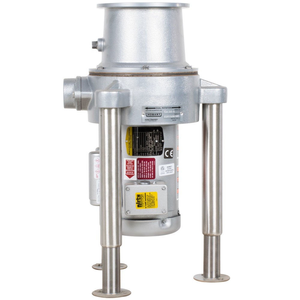 Hobart FD4/150-2 Commercial Garbage Disposer - 1 1/2 hp, 115/230V on hobart c44a wiring schematic, hobart dishwasher electrical wiring, hobart parts, hobart dishwasher schematics,