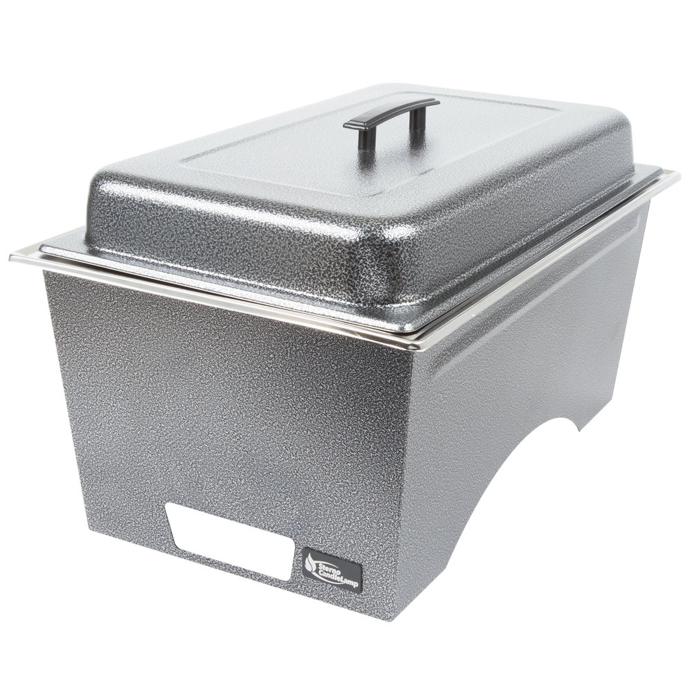 Sterno Products Silver Vein Stackable Chafer With Lid And