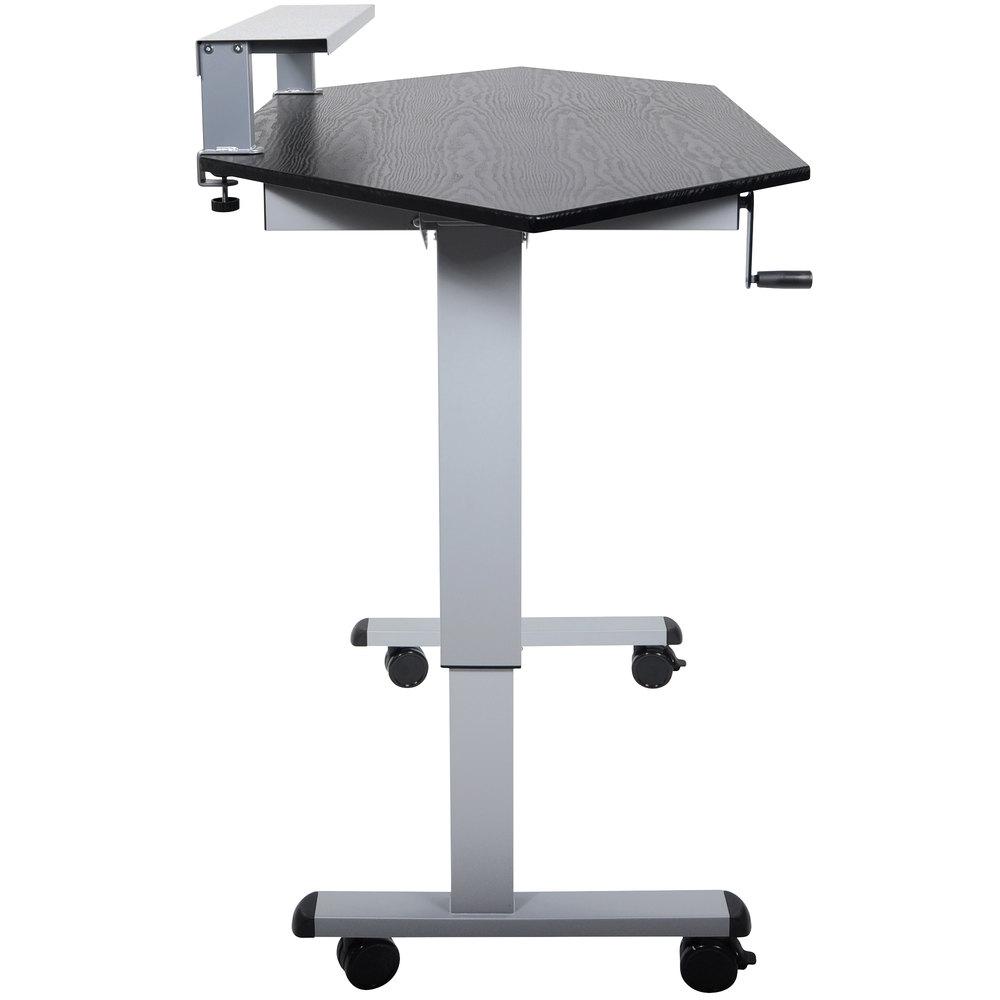 Luxor H Wilson Standup Ccf60 B Stand Up Corner Desk 60 Quot