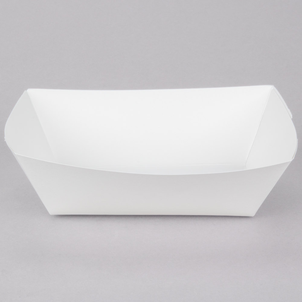 Paper Food Trays & Food Boats