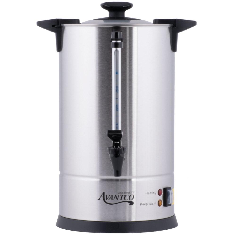 120 Volts Avantco CU55ETL 55 Cup Stainless Steel Coffee Urn - 950W ...