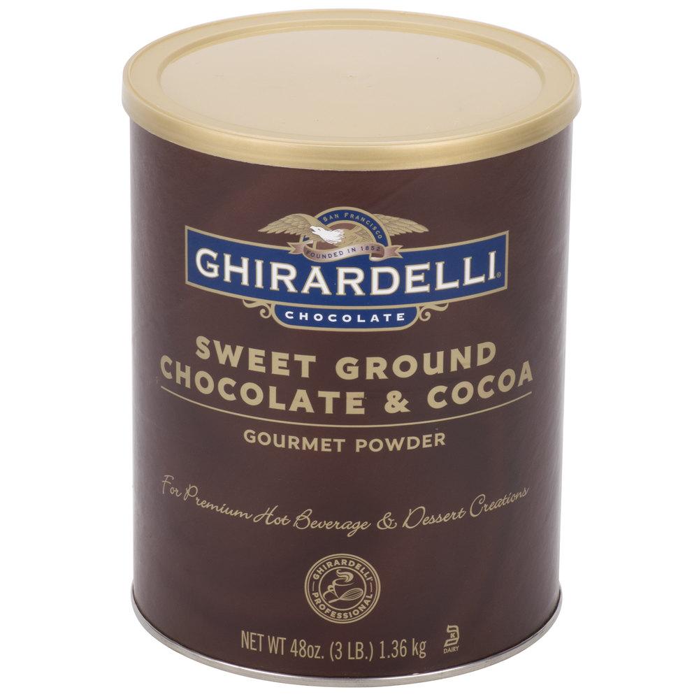 Ghirardelli cocoa