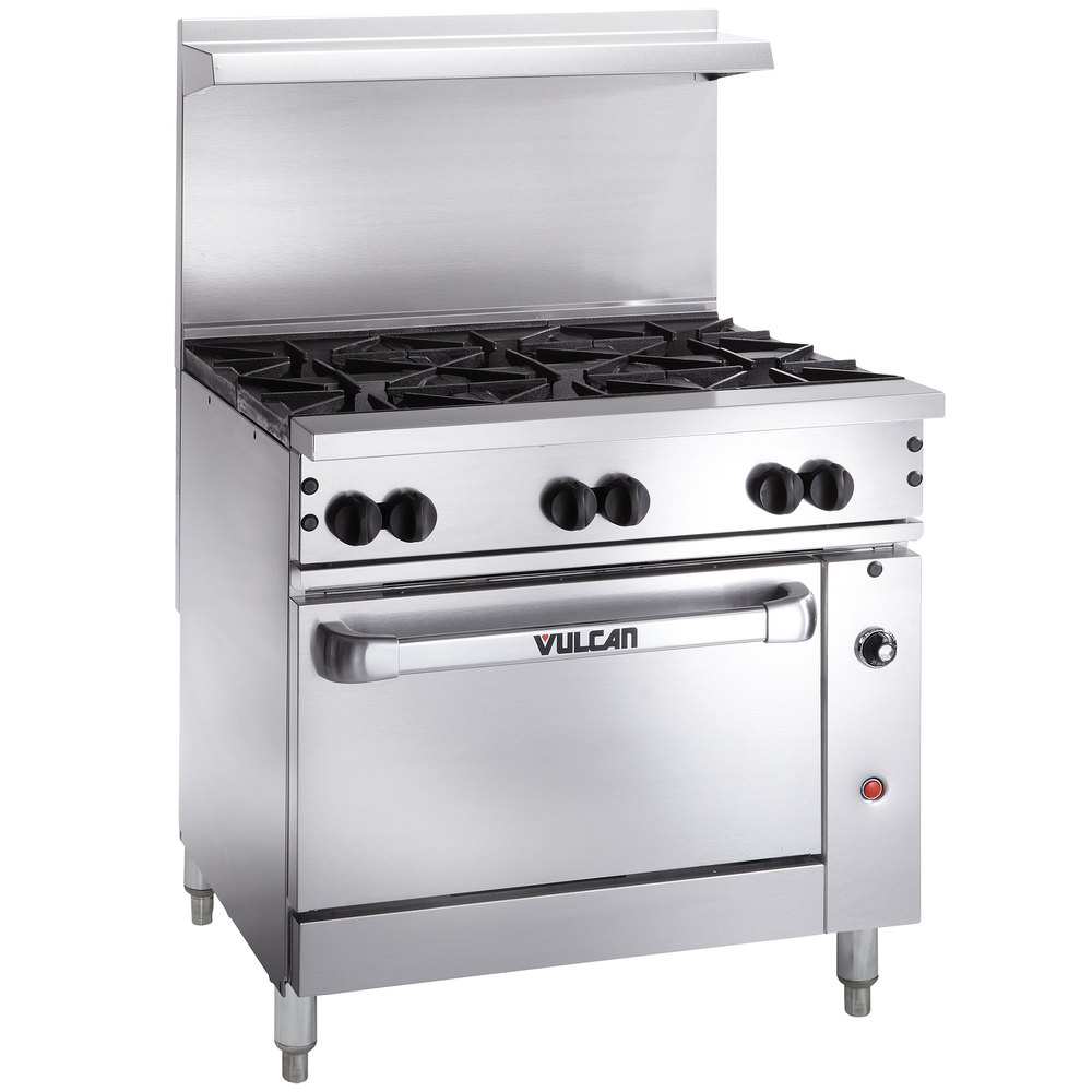 Vulcan 36C 6BN Endurance 6 Burner 36 Natural Gas Range