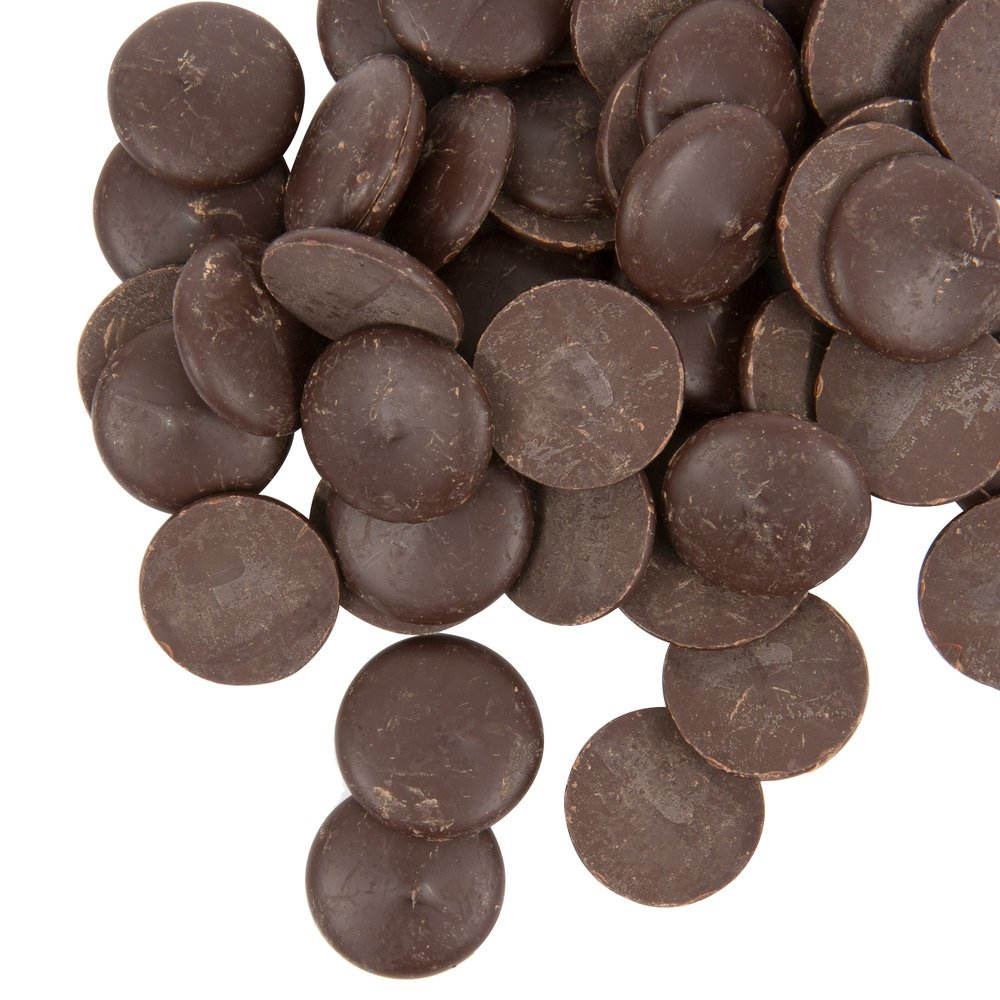 Ghirardelli 25 lb. 100% Cacao Unsweetened Chocolate Liquor Wafers