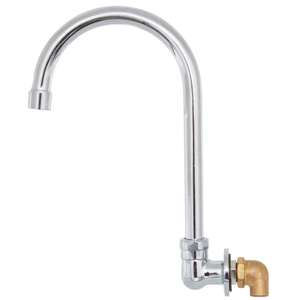 Regency Wall Mount Handsink Faucet with 6 inch Gooseneck Spout