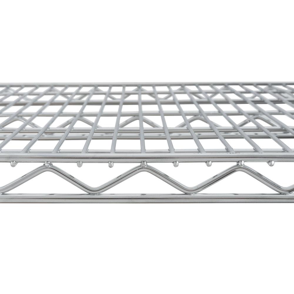 Metro 1860NS Super Erecta Stainless Steel Wire Shelf - 18\