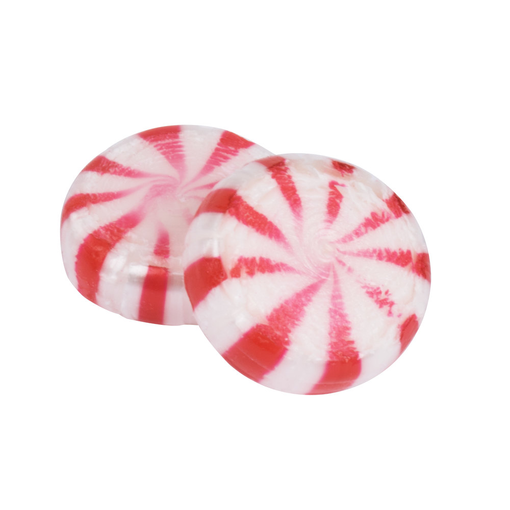 Peppermint Starlite Mints Individually Wrapped 5 lb. Bag