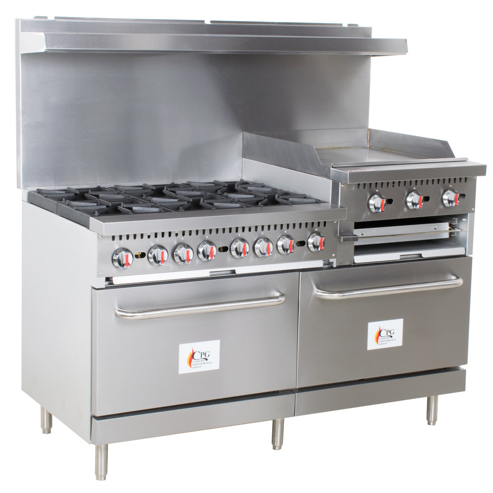 Cooking Performance Group S60 Gs24 N Natural Gas 6 Burner